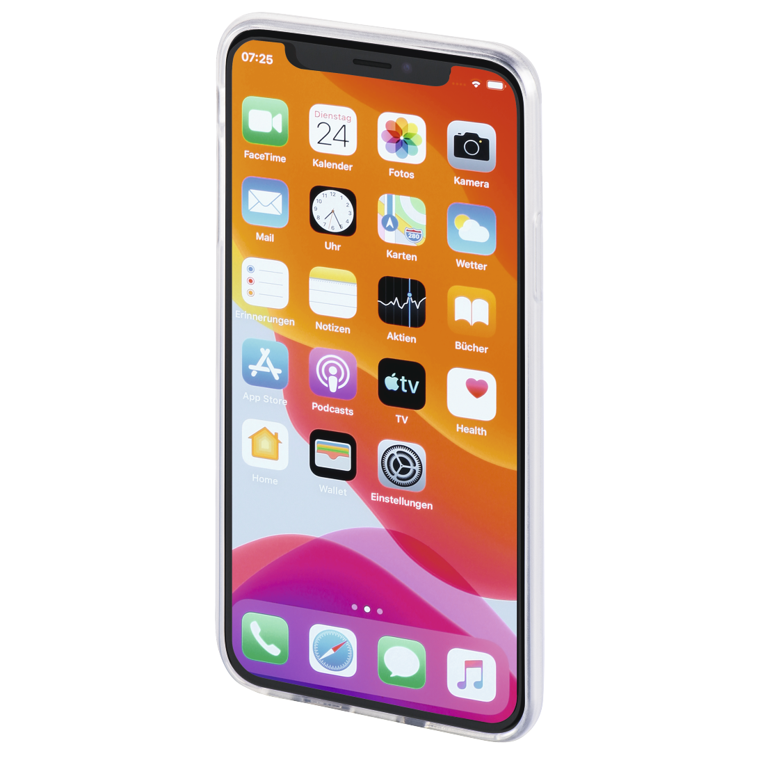 "abx3 High-Res Image 3 - Hama, Coque de protection ""Crystal Clear"" pr Apple iPhone 11, transparente"