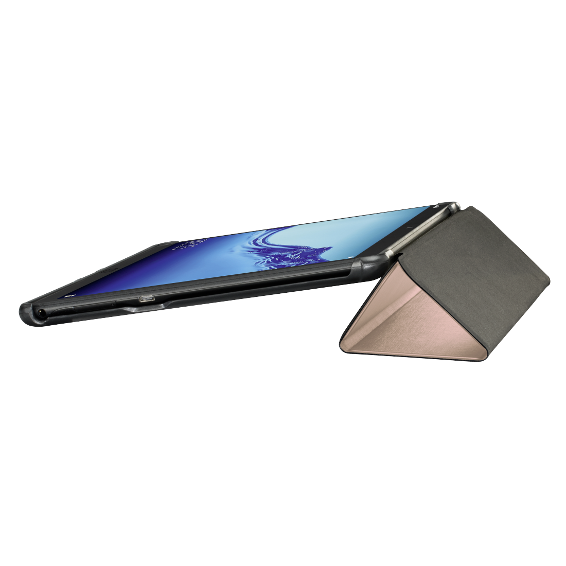 "abx3 High-Res Image 3 - Hama, Pochette pr tablette ""Fold"" pour Huawei MediaPad T5 (10.1""), or rose"