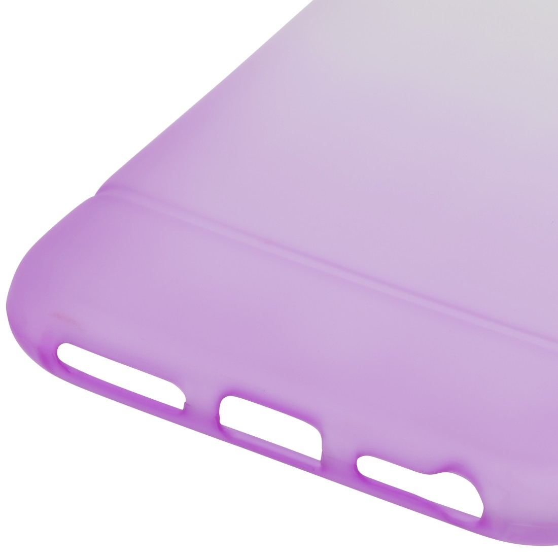 "dex High-Res Detail - Hama, Coque de protection ""Colorful"" pour Samsung Galaxy A70, transp./lilas"