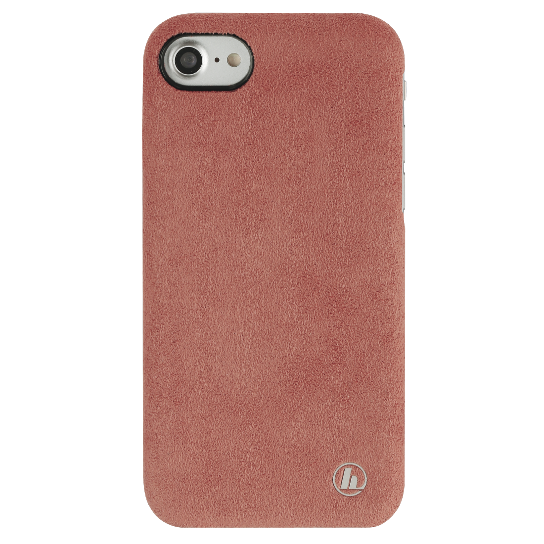 "abx2 High-Res Image 2 - Hama, Coque protect. ""Finest Touch"" pr Apple iPhone 6/6s/7/8/SE 2020, corail"