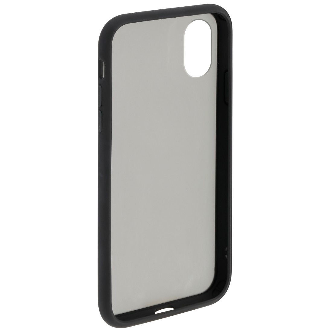 "abx2 High-Res Image 2 - Hama, Coque de protection ""Invisible"" pour Apple iPhone X/Xs, noire"