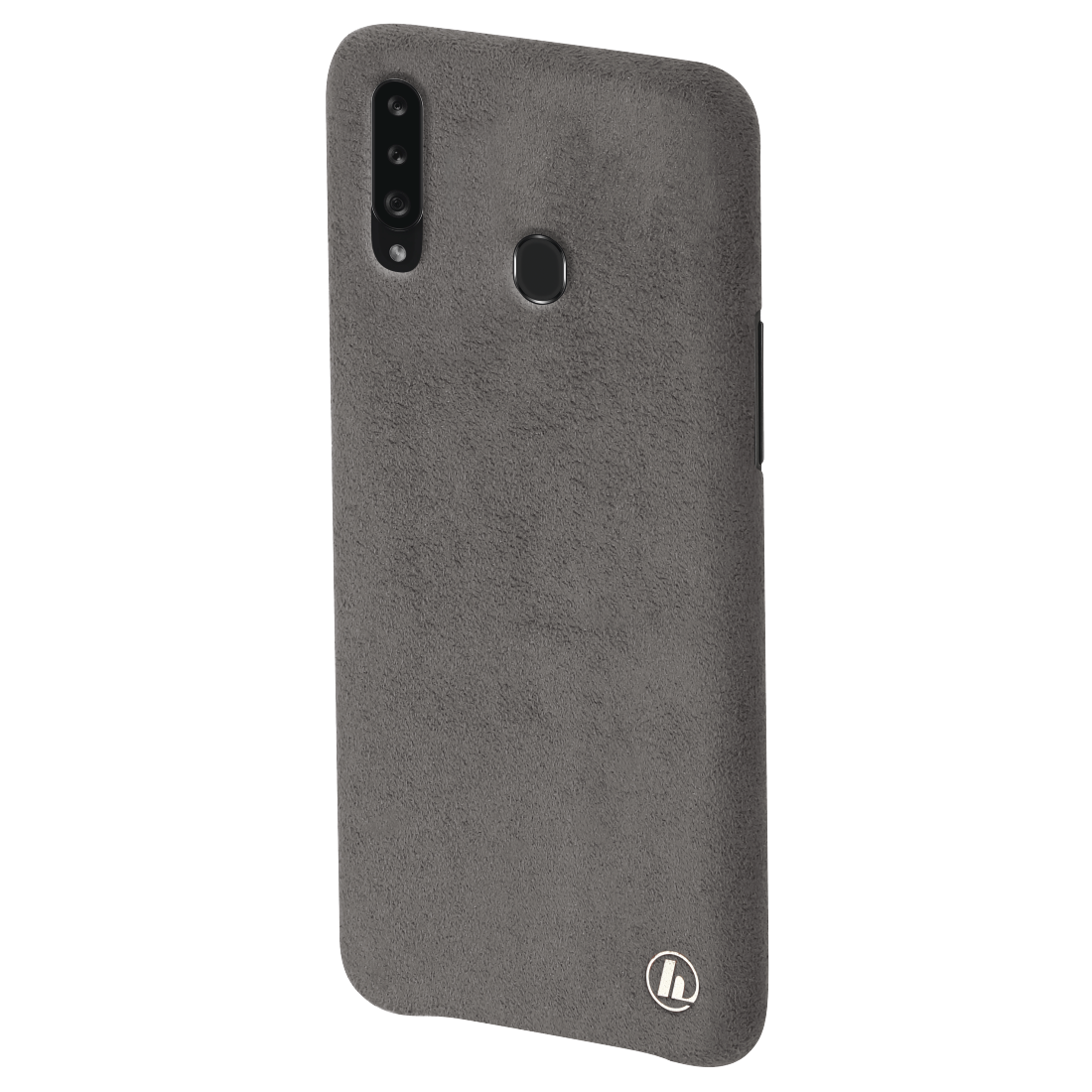 "abx3 High-Res Image 3 - Hama, Coque de protection ""Finest Touch"" pr Samsung Galaxy A20s, anthracite"