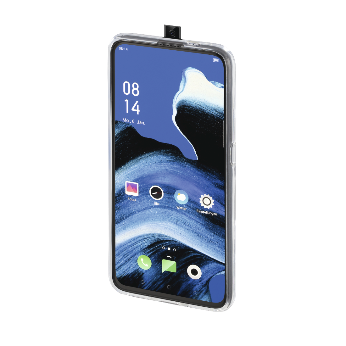 "abx3 High-Res Image 3 - Hama, Coque de protection ""Crystal Clear"" pour Oppo Reno2 Z, transparente"