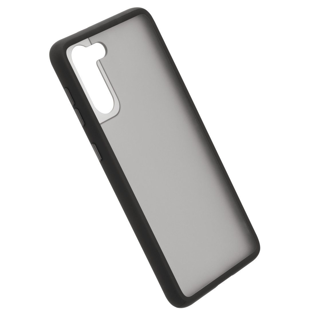 "abx4 High-Res Image4 - Hama, Coque de protection ""Invisible"" pour Samsung Galaxy S21+ (5G), noire"