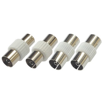 abb Image - Hama, Kit d'adaptateurs coax antenne, 9mm & 9,52mm